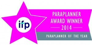 IFP Paraplanner of the Year 2014 logo